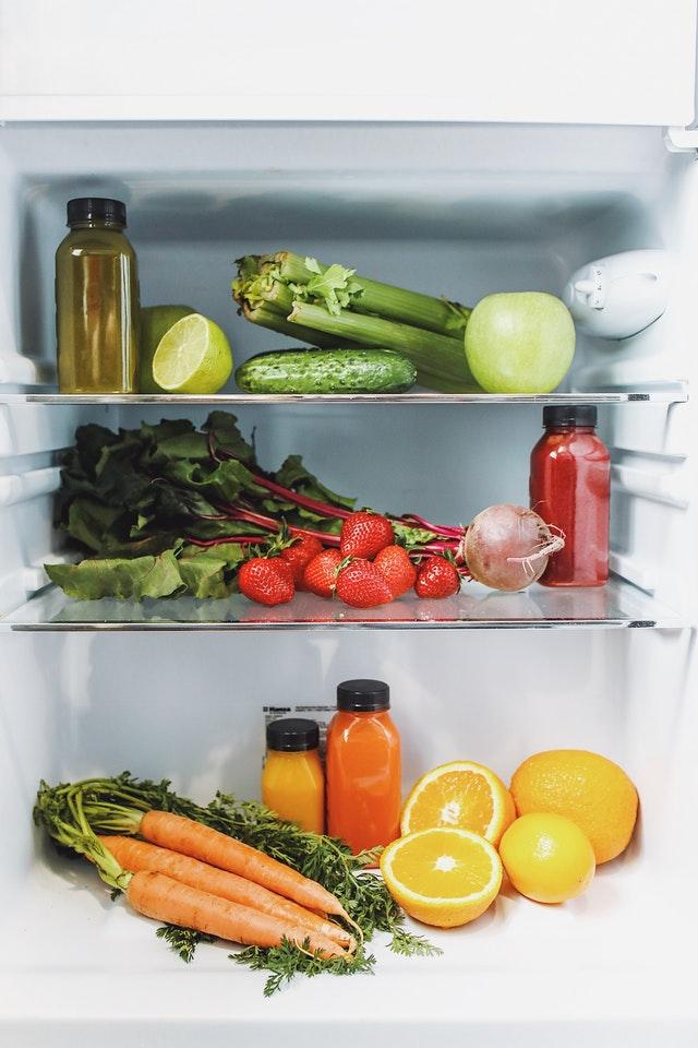 légumes au frigo